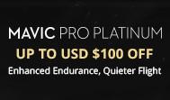 $100 off Mavic Pro Platinum
